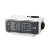 LCDレトロアラームクロックS BCR003−WH