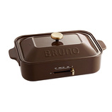 ブルーノ(BRUNO) コンパクトホットプレート ブラウン