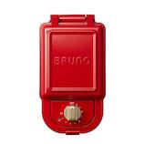 ブルーノ(BRUNO) ホットサンドメーカー シングル BOE043-RD レッド│製菓用品 ホットサンド・ワッフルメーカー