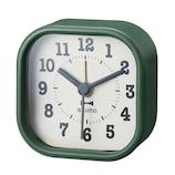 ブルーノ(BRUNO) スクエアリトルクロック BCA014 グリーン│時計 目覚まし時計