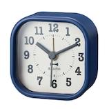 ブルーノ(BRUNO) スクエアリトルクロック BCA014 ブルー│時計 目覚まし時計