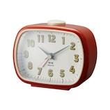 ブルーノ(BRUNO) レトロスクエア アラームクロック BCA015 レッド│時計 目覚まし時計