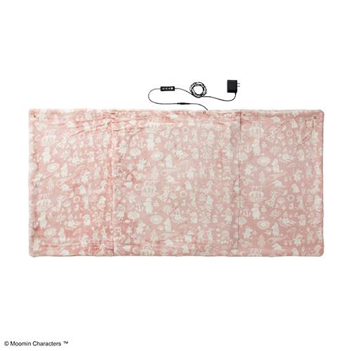 ムーミン×ブルーノ(BRUNO) ウォームブランケット BOA114‐MPK ピンク