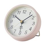 ブルーノ(BRUNO) グレイッシュアラームクロック BCA022 ピンク│時計 目覚まし時計
