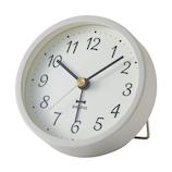 ブルーノ(BRUNO) グレイッシュアラームクロック BCA022 グレー│時計 目覚まし時計