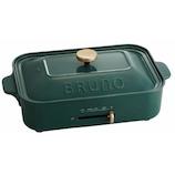 ブルーノ(BRUNO) コンパクトホットプレート BOE021 カクタスグリーン