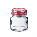 二ノ宮 チェックボトル FC-50 DG-876│保存容器 ガラス保存容器