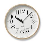 タカタレムノス リキ クロック アールシー WR20-02│時計 壁掛け時計