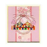 モンクハウス 雛祭色紙カード HS‐078