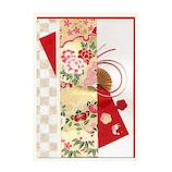 モンクハウス 和風多目的カード 彩美 CJ-336 赤