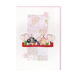 モンクハウス 雛祭カード HS‐082