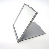 <東急ハンズ> シンプルコンパクトミラー WH 超薄型コンパクトミラー HLC40 SV画像
