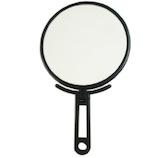 ウッディハウス 手鏡ハンド 3倍 NO.59 ブラック│メイク道具・化粧雑貨 手鏡・卓上ミラー