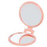 【お買い得】 10倍拡大鏡付きコンパクト YL−10ピンク