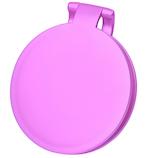 【お買い得】10倍拡大鏡付き 両面コンパクトミラー YL−10 パールピンク
