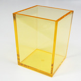 有賀 ペンスタンド 角型 クリアオレンジ