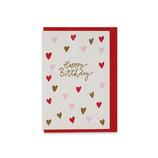 グリーティングライフ シックバースデーカード MM−224 ハート│カード・ポストカード バースデー・誕生日カード