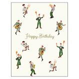 グリーティングライフ バースデーリトルピープルカード YD-9 パーティー│カード・ポストカード バースデー・誕生日カード