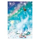 【クリスマス】 グリーティングライフ ミニサンタカード S−361