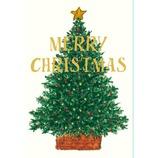 【クリスマス】 グリーティングライフ 米津クリスマスカード YZ−33