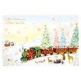【クリスマス】 グリーティングライフ ミニサンタカード S−394
