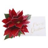 【クリスマス】 グリーティングライフ クリスマスフラワーポップアップ LY−27