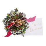 【クリスマス】 グリーティングライフ クリスマスフラワーポップアップ LY−28