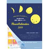 【2019年版・壁掛】グリーティングライフ 月の満ち欠け カレンダー C1043MP 日曜始まり
