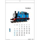 【2019年版・壁掛】グリーティングライフ カレンダー トーマス C1048TS 日曜始まり