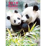 【2018年12月始まり】 グリーティングライフ パンダ手帳 A6 ソフト マンスリー CD773PA 香香 月曜始まり