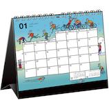 【2020年版・壁掛卓上兼用】グリーティングライフ ジャン・ヴァンサン・セナック カレンダー C−1157−JF 日曜始まり