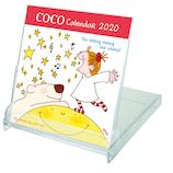 【2020年版・卓上】グリーティングライフ ココちゃん カレンダー FDサイズ C−1170−RY 日曜始まり