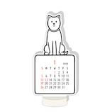 【2020年版・卓上】グリーティングライフ ノリタケ ダイカットカレンダー ドッグ C−1181−NT 日曜始まり