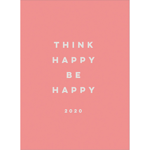 【2020年1月始まり】 グリーティングライフ ハッピープランナー B6 ウィークリー CD‐914‐KE ピンク 月曜始まり