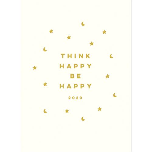 【2020年1月始まり】 グリーティングライフ ハッピープランナー B6 ウィークリー CD‐915‐KE ホワイト 月曜始まり
