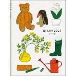 【2021年1月始まり】 グリーティングライフ 米津祐介 B6 ウィークリー CD-957-YZ ツール 月曜始まり