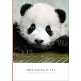【2021年1月始まり】 グリーティングライフ パンダ手帳 B6 ウィークリー CD-963-PA 月曜始まり