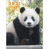 【2020年12月始まり】 グリーティングライフ パンダ手帳 A6 マンスリー CD-980-PA 月曜始まり