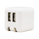 藤本電業 COLOCORO AC充電器 CA-04WH/WH ホワイト×ホワイト