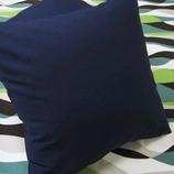 カラーオックス クッションカバー ネイビー 45cm×45cm