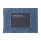 デルフォニックス(DELFONICS) PDフレームアルバムベーシックS 500196 902 シャンブレーブルー│アルバム・フォトフレーム フォトアルバム