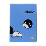 【2019年10月始まり】 デルフォニックス(DELFONICS) マウス B6 マンスリー 100084 スカイブルー 月曜始まり