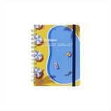 デルフォニックス(DELFONICS) ロラン ロルバーンポケット付メモ M 500852 971 B(プールサイド)│ノート・メモ リングノート