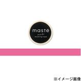 マークス(MARKS) マスキングテープ maste 無地 MST−MKT01−PK ピンク