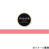 マークス(MARKS) マスキングテープ maste 無地 MST−MKT04−SPK サーモンピンク