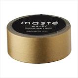 マークス(MARKS) マスキングテープ ベーシック ゴールド 無地