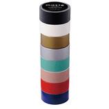 マークス(MARKS) マスキングテープ8巻セット MST−MKT182 カラーミックス