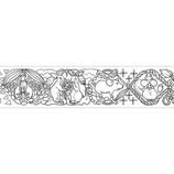 マークス(MARKS) ぬり絵ができるマスキングテープ MST−ZC01−A マステ アニマル 50mm