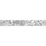 マークス(MARKS) ぬり絵ができるマスキングテープ MST−ZC02−A マステ アニマル 25mm