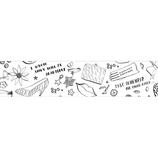 マークス(MARKS) ぬり絵ができるマスキングテープ 色鉛筆付セット MST−ZC03−C マステ Nina Chakrabarti